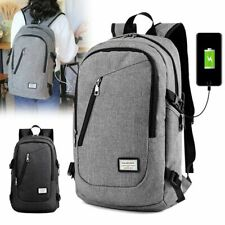 Waterproof Backpack Women Men School Bags USB Charge Travel Bag Laptop Bagpack