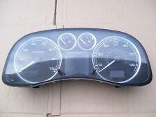PEUGEOT 307 INSTRUMENT PANEL SPEEDO REV COUNTER GAUGES OFF 2005 REG 5 DOOR 1.6