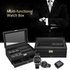 Automatisch Uhrenbeweger Uhrenbox Uhrenkasten Watchwinder Box mit 12 watch slots