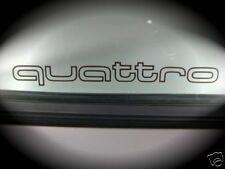Aufkleber Audi 80 Quattro Urquattro Sticker Typ 81/85 Seitenscheibe Limo Retro