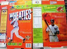 2006 Alex Rodriguez Wheaties Cereal Box kz272