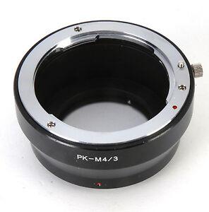 Pentax PK Lens For Olympus E-P1 EP2 Panasonic GF1 GH1 DC51 M4/3 Adapter