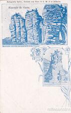* GAETA - Montagna spaccata col santuario della Trinità, Sepolcro Romano 1900