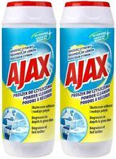 2 x Ajax Powder Cleaner Scratch Free 450g Multi-Purpose Clean Lemon Fragrance