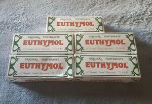 Euthymol Original Toothpaste 75ml set of 5