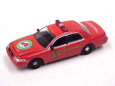 Ford Crown Victoria Fire Chief Car by Greenlight has damaged paint & things