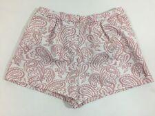 Victoria Beckham Delia Jacquard Shorts Size Xl Girls Adjustable Waist Blush
