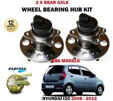 para Hyundai i10 1.0 1.1 1.2 9/2008> NUEVO 2x Trasero ABS RODAMIENTO CUBO Juego