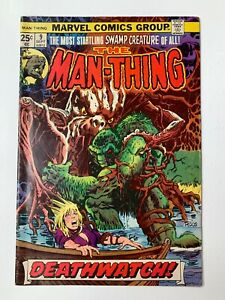 Man-Thing #9 - MVS Intact! (Marvel Comics, 1974) FN/FN+