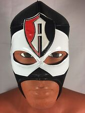 ATLAS!! WRESTLING-LUCHADOR MASK!Great Mask For Fans! ZORROS ROJINEGROS DEL ATLAS