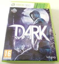 DARK (2013) GIOCO XBOX 360 PERFETTO COMPLETO XBOX360 SPED GRATIS SU + ACQUISTI!!