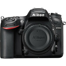 Nikon D7200 24.2MP DSLR Camera Body (Black) with 16GB SDHC Memory Card (SMP5)