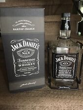 Jack Daniels Empty 3 Liter Bottle w/Cradle and Box - Collector Item!!!!
