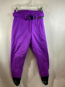 Obermeyer Womens Purple Magenta Stir Up Ski Pants Thermolite Size 8 Long