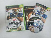 Xbox NCAA Football 2005 Top Spin Tennis Video Game Free Shipping