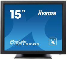 Iiyama ProLite T1531SR 15 Zoll LED Touchscreen Monitor - 1024 x 768, 8ms, HDMI