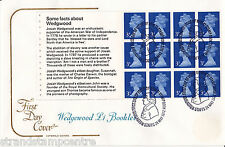 1972 Wedgewood £1 PSB Booklet - Cotswold - Barlaston H/S - Cat £110 !