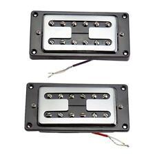 2 Pièces Micro Guitare Humbucker Avec Vis De Montage Pour Guitare