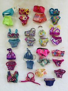 Huge Barbie Doll BATHING Suit Clothes Lot Swim Beach Bikini