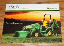 Original 2013 John Deere 1 Family 1023E 1025R Tractor Sales Brochure 13
