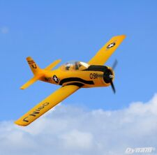 Dynam RC Airplane Warbirds T28 Trojan Yellow 1270mm Wingspan - SRTF
