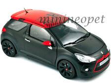 NOREV 181543 2012 12 CITROEN DS3 RACING 1/18 DIECAST S.LOEB MATT BLACK w RED