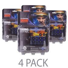 4-PACK SteelSeries Zboard Gaming Keyboard w/ Limited Edition StarCraft II Keyset