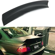 BMW E46 Rocket Bunny Rear Boot Lid Trunk Spoiler Ducktail Wing Lip 4 Door Sedan