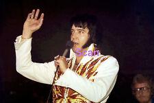 ELVIS SOUTH BEND IN 10/25/76 SHAVER VINTAGE ORIGINAL OLD KODAK PHOTO CANDID #4