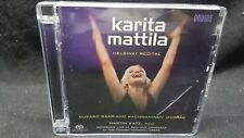 Karita Mattila - Helsinki Recital Super Audio CD (CD, May-2007, Ondine) Austria