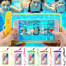 30m Underwater Waterproof Case Illuminate Cover Bag Dry Pouch For iPhone Samsung