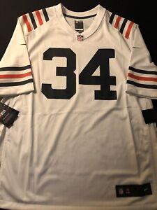 Nike OG Chicago Bears White Walter Payton Vapor Untouchable Jersey Size 3XL New