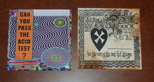 Ken Kesey Acid Test Diploma & Poster Blotter Art Print Set S/#50 Grateful Dead