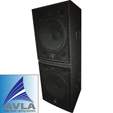 "Wharfedale Pro LX18B 18"" Passive Subwoofer Pair (2) Demo"