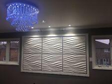 3D Wall Panels - wall decor - 3D Art. 12 Decorative 3D Wall Tiles ~64 sq.ft M#77