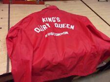 Vintage Dairy Queen Jacket Coat - King's Diary Queen - Roscommon Michigan