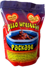Jelly Wrestling Mix 1.8kg. Makes 380L of Red Jello! Professional, High Quality