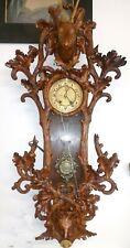 Antique- Black Forest Regulator  - Ca. 1880- Unique