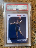 2019 Panini Hoops #258 ZION WILLIAMSON GEM MT PSA 10 🏀🏀🏀 ROOKIE