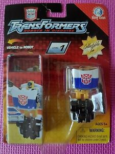 Transformers Robots in Disguise R.I.D. Tiny Tins Spy Changers PROWL 2 WORLDWIDE