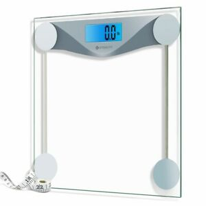 Etekcity Digital Body Weight Bathroom Scale With Body Tape Measure 400lb/180kg