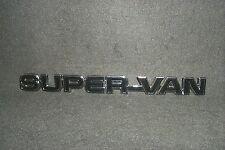 NOS SUPER VAN Emblem 1977 1978 1979 1980 Ford Econoline Van E150 E250 E350 Badge