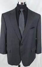 Jos A Bank Men Sport Coat Blazer Size 54L Gray Wool Cashmere 2Button Jacket Tall