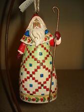 Jim Shore Santa with Cane Ornament 4014338