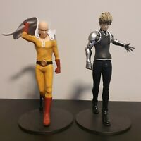 One Punch Man DXF Saitama and Genos Premium Figures