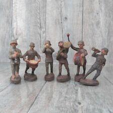 ELASTOLIN - Massefigur - 6 tlg. Soldaten Musiker - Konvolut - #Ac35851