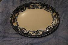 "Royal Staffordshire RENOWN BLUE 14 1/2"" Oval Serving Platter Berslum England"
