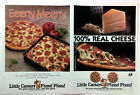 1989 LITTLE CAESARS Pizza! Pizza! Southern California Advert & Coupons Mailer