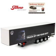 Tekno 3 Axle Box Trailer SCANIA Truck of The Year 1 50 Scale 71991