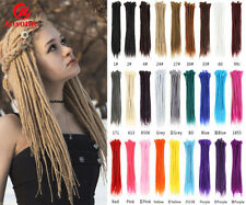 "20"" 100% Handmade Synthetic Dreadlocks Hair Extensions Reggae Braids SE Dreads"